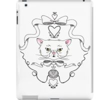 Cat Crest iPad Case/Skin