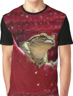 Floridian Frog In Vase  Graphic T-Shirt