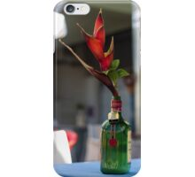 Red Heliconia/Birds of Paradise Flower - Nature Photography iPhone Case/Skin