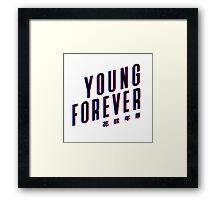 YOUNG FOREVER 3D Framed Print