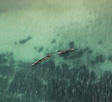 MTUMBWI DHOWS by marieleephoto