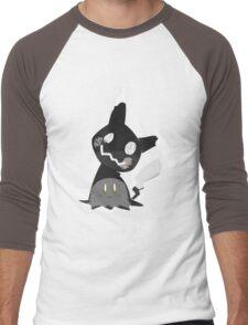 Pokemon Sun / Moon - Happy Mimikyu :) Men's Baseball ¾ T-Shirt
