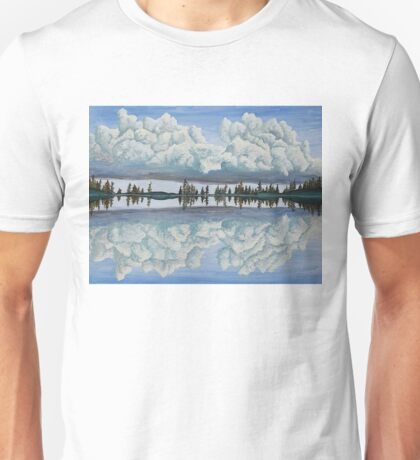 Clouds Reflection Unisex T-Shirt