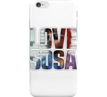 Love Sosa v2 iPhone Case/Skin