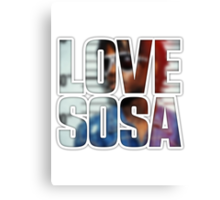 Love Sosa v2 Canvas Print