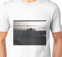 sunset ship Unisex T-Shirt