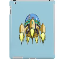Trunks in the Time Machine iPad Case/Skin