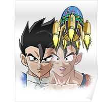 Gohan and Trunks Poster