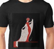"Art Deco Costume by Erte ""Alphabet Cloak"" Unisex T-Shirt"