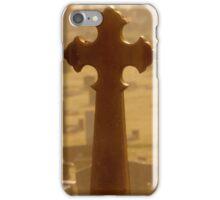 Cross in Golden Mist iPhone Case/Skin