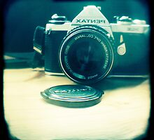 Old friend - vintage Pentax camera by gailgriggs