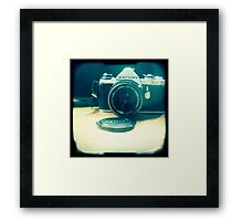 Old friend - vintage Pentax camera Framed Print