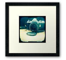 Old friend - vintage Pentax camera Framed Print