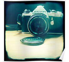 Old friend - vintage Pentax camera Poster