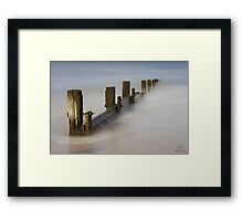Fog @ Balnarring Beach? Framed Print