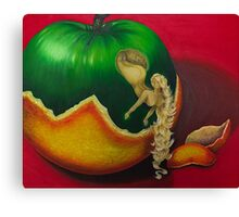 From the Apple & Eve Series, Who am I Canvas Print