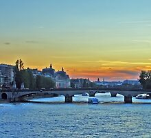 RIVER SEINE by Raoul Madden