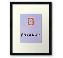 Friends tv show central perk Framed Print
