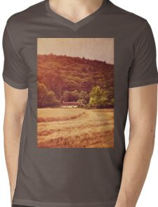 The cottage at the edge of the wood Mens V-Neck T-Shirt