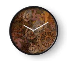 Changing Gear - Steampunk Gears & Cogs Clock