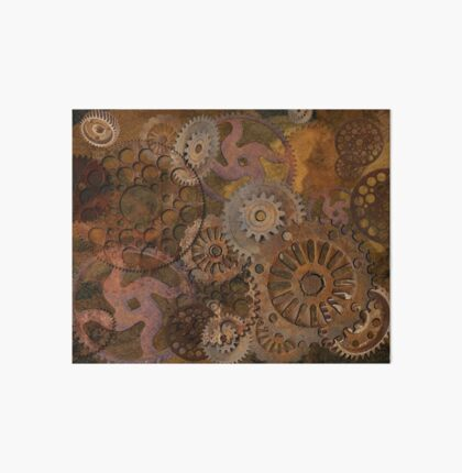 Changing Gear - Steampunk Gears & Cogs Art Board