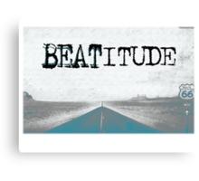 BEATITUDE Canvas Print