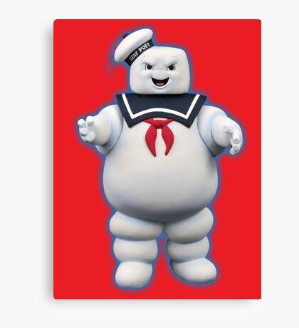 Stay Puft Marshmallow Man Canvas Print