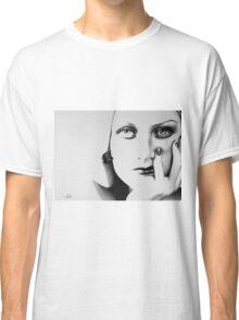 Joan Crawford Minimal Portrait Classic T-Shirt