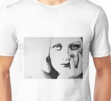 Joan Crawford Minimal Portrait Unisex T-Shirt