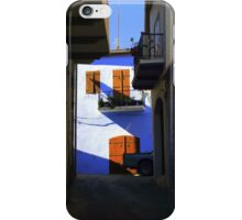 Painting the town Blue iPhone Case/Skin