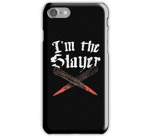 Buffy Vampire slayer iPhone Case/Skin