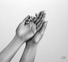 Light Read: a Hand Study by IleanaHunterArt