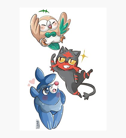 Baby starters Photographic Print