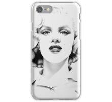 Marilyn Monroe Minimal Portrait iPhone Case/Skin