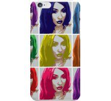 Lili PopArt iPhone Case/Skin