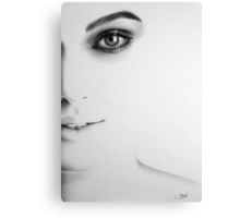The Half Series: Keira Knightley Canvas Print