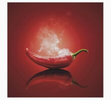 Steaming hot red chilli  Baby Tee