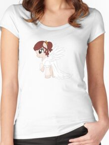 Lucille Pony Women's Fitted Scoop T-Shirt