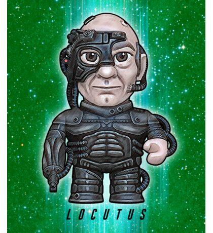 Locutus - Star Trek Caricature Sticker