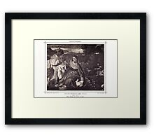 HOLLY FAMILY (La Vierge au lapin) Framed Print