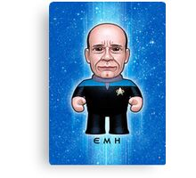 EMH Doctor - Star Trek Caricature Canvas Print