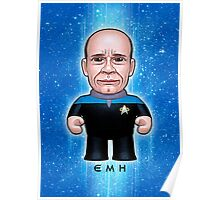 EMH Doctor - Star Trek Caricature Poster
