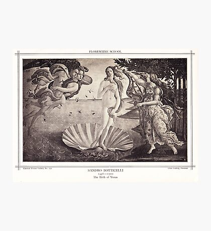 The Birth of Venus Photographic Print