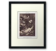 The sarcifice of Abracham Framed Print