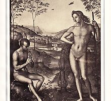 Apollo and Marsyas by Krzyzanowski Art