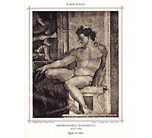 Figure on Pilar Photographic Print