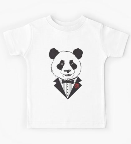 Dapper Panda Kids Tee