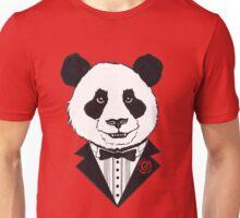 Dapper Panda Unisex T-Shirt