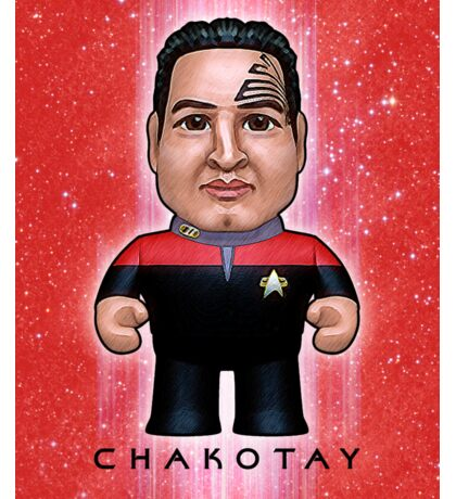 Chakotay - Star Trek Caricature Sticker