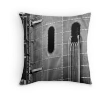 confined spaces Throw Pillow